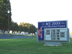 Mount Zion United Methodist Church Cemetery