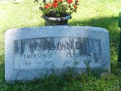 Esther G. <I>Anderson</I> Eklund