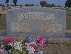 Jessie May <I>Pultz</I> Simmons