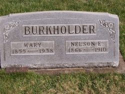Mary <I>Enos</I> Burkholder