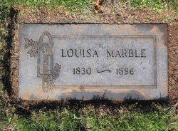 Louvisa Garner <I>Green</I> Marble