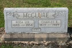 Rosa Lee <I>Tackett</I> McClure