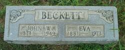 Mary Eva <I>Bishop</I> Beckett