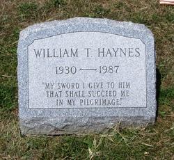 William T Haynes