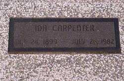 Ida <I>Piper</I> Carpenter