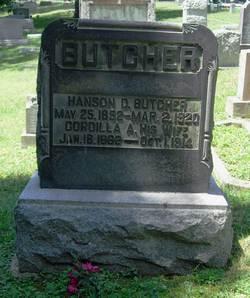 Cordilla A. <I>McLaughlin</I> Butcher