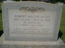 Robert Walter Scott, Sr