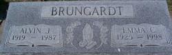 Emma C <I>Lang</I> Brungardt