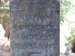 Mary Ann Longworth
