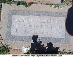 Elaine G <I>Gannon</I> Asquith
