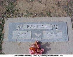 Elsie May <I>Bruner</I> Bastian