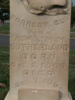Forrest Guy Sutherland
