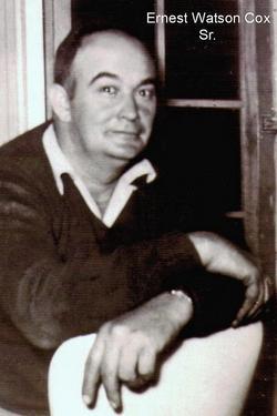"""Ernest Watson """"Ernie"""" Cox"""