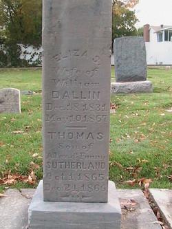 Eliza <I>Sutherland</I> Dallin