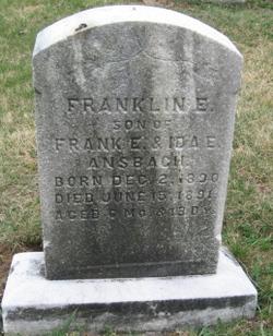 Franklin E Ansbach