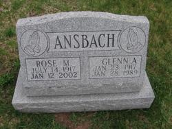 Glenn A Ansbach