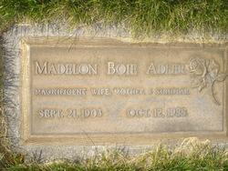 Madelon <I>Boie</I> Adler
