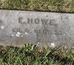 Pvt Elijah Howe