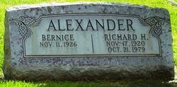 Richard H Alexander