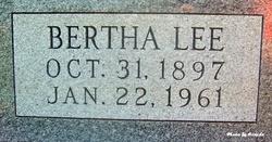 Bertha Lee <I>Ferguson</I> Baker
