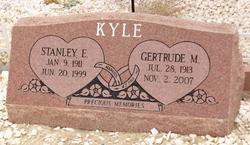 Gertrude M Kyle