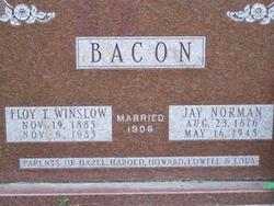Floy Tilitha <I>Winslow</I> Bacon