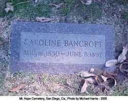 Caroline Bancroft
