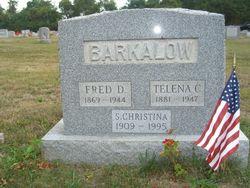 "Frederick D. ""Fred"" Barkalow"