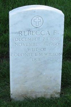 Rebecca F Wilson