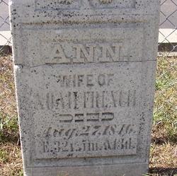 Ann <I>Burkholder</I> French