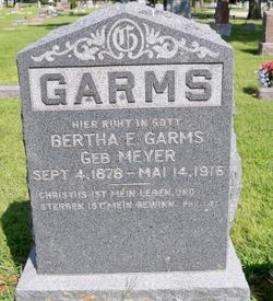Bertha E. Garms