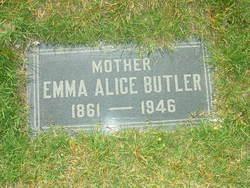 Emma Alice <I>Meadows</I> Butler