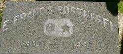 Ellen Francis <I>Carlson</I> Rosengren