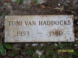 Toni Van Haddocks