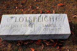 Rev Samuel L. Lotspeich