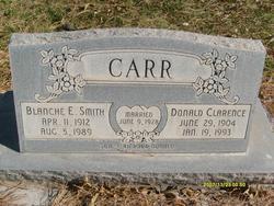 Blanche Etta <I>Smith</I> Carr