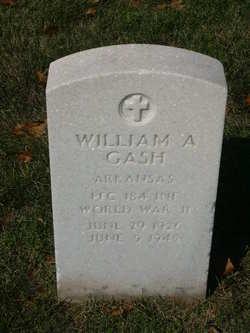 PFC William A Gash