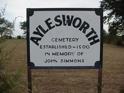 Aylesworth Cemetery
