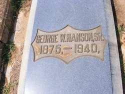 George Washington Hanson Sr.