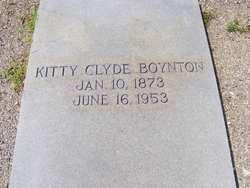 Kitty Clyde Boynton