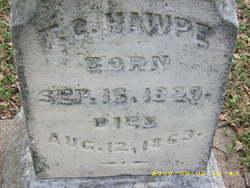 Col Trezevant Calhoun Hawpe