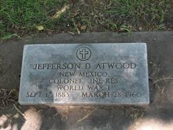 Jefferson D Atwood