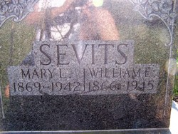 Mary Elizabeth <I>Felker</I> Sevits
