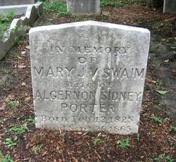 Mary Jane Virginia <I>Swaim</I> Porter