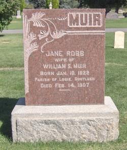 Jane Stewart <I>Robb</I> Muir