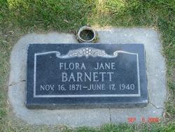 Flora Jane <I>Spainhower</I> Barnett