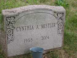 Cynthia Anne Mistler 1958 2004