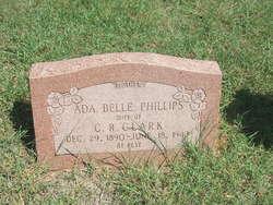 Ada Belle <I>Phillips</I> Clark