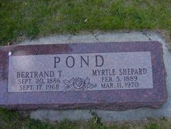 Myrtle Vilate <I>Shepard</I> Pond