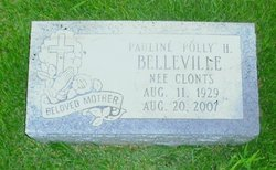 "Pauline H. ""Polly"" <I>Clonts</I> Belleville"